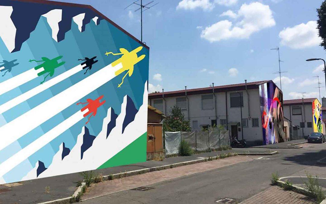 CORBA, rigenerare un quartiere attraverso l'Arte Urbana. Un progetto di STRADEDARTS