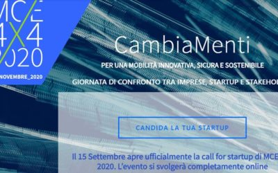 Call For Ideas di MCE 4X4, un'iniziativa di Assolombarda e Camera di Commercio