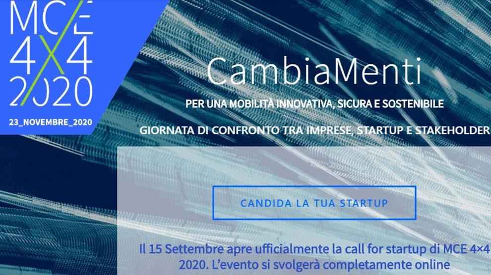 Call For Ideas di MCE 4X4