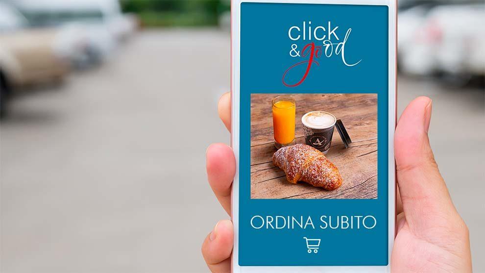 Autogrill lancia Click&Good, per prenotare e ritirare il proprio pasto in autostrada