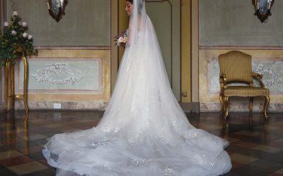 """Valentina Ricci """"on air"""" per il suo matrimonio con Atelier Emé"""