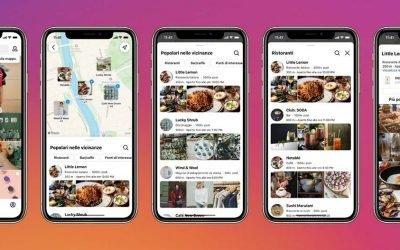 """Instagram lancia la funzione """"Cerca sulla mappa"""" per scoprire le location di tendenza"""