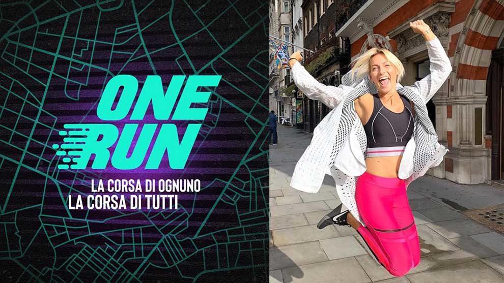 One Run – La corsa di ognuno, la corsa di tutti. Federica Fontana è la madrina