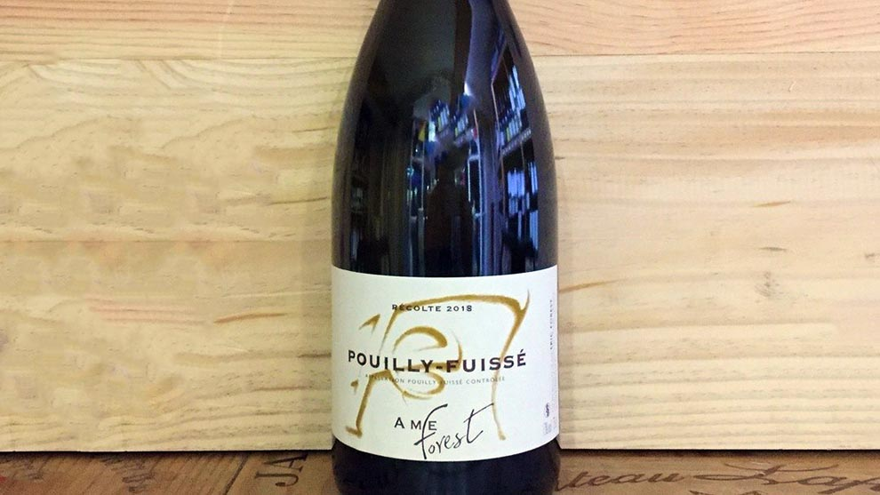 Eric Forest Pouilly-Fuisse L'Ame Forest 2018 di Cantina delle Meraviglie
