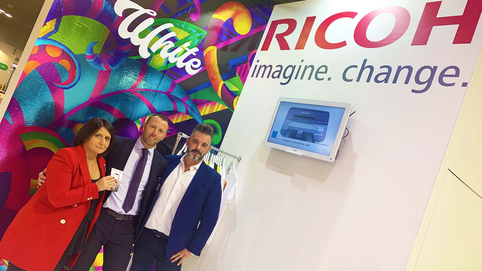 Ricoh in Viscom con le nuove tecnologie Inkjet Large Format