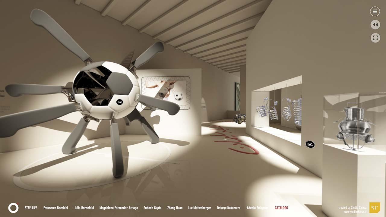 """STEELLIFE Digital Re-life Experience, rivivere l'arte grazie a una nuova esperienza """"phygital"""""""