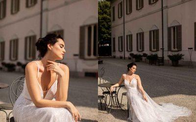 Atelier Emé ha vestito Catherine Poulain durante il giorno più bello