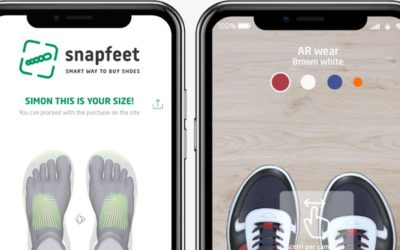 Snapfeet, arriva l'App per provare le scarpe via smartphone