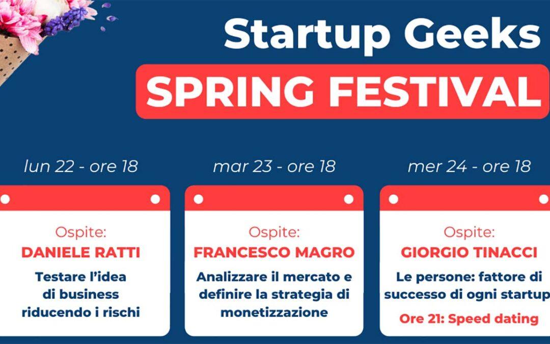 Startup Geeks Spring Festival
