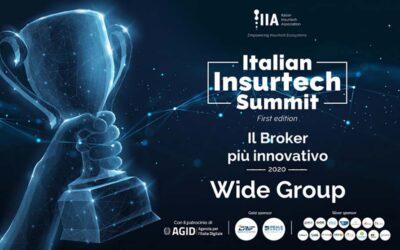 """Wide Group SpA vince nella categoria """"il Broker più innovativo"""""""