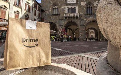 Amazon e U2 Supermercato, il servizio della spesa in giornata arriva anche a Bergamo