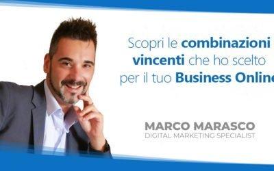Le combinazioni vincenti per il tuo Business Online. Di Marco Marasco