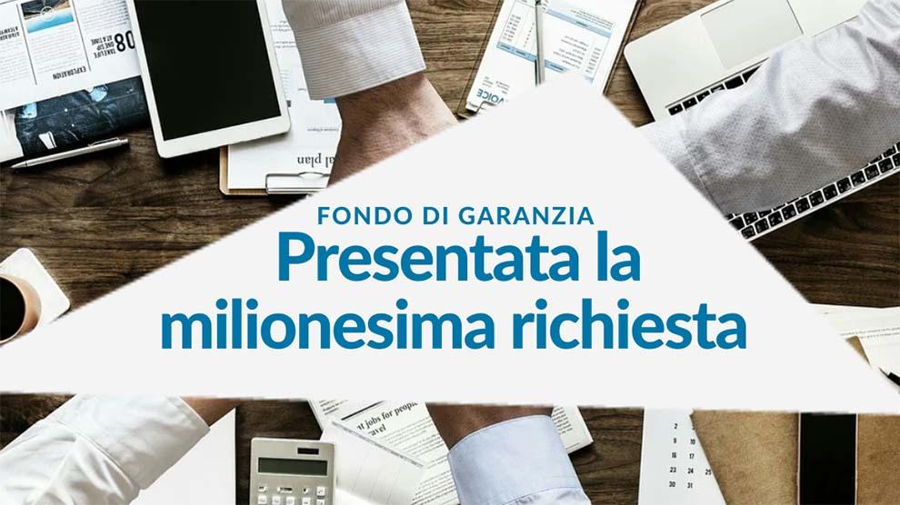 Fondo di garanzia, Promozioniservizi lavora la milionesima richiesta