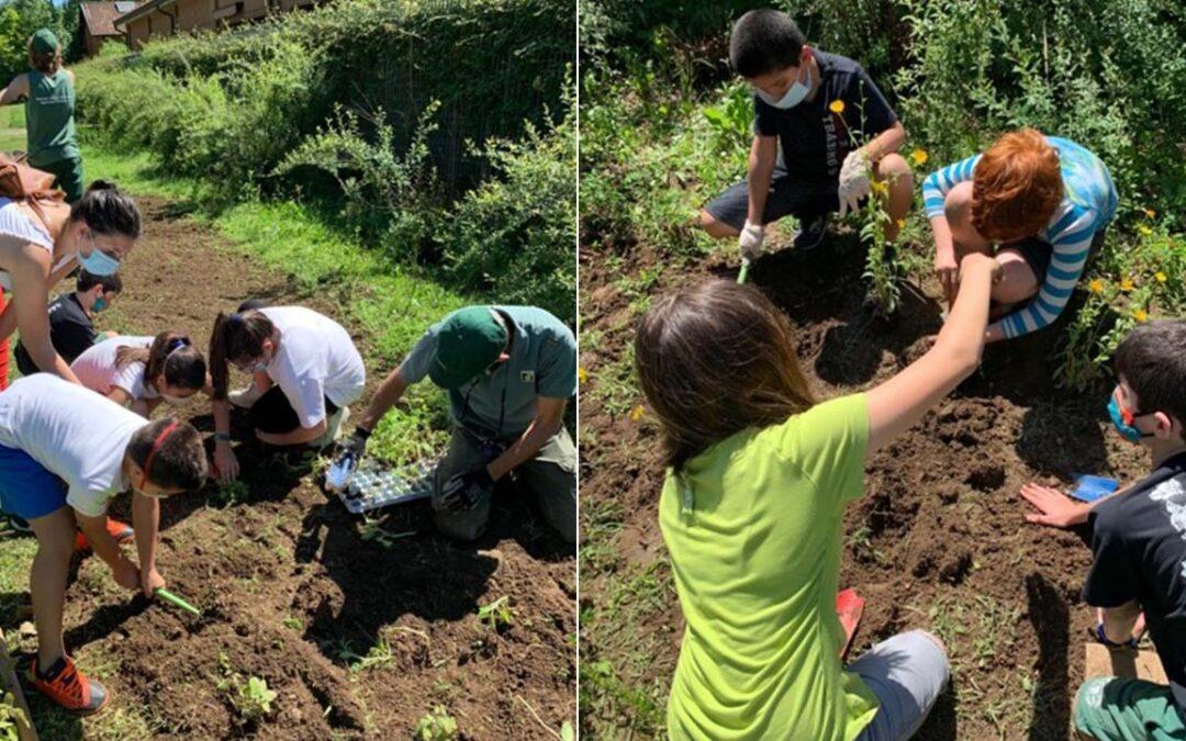 """Parte """"Scuola Forestami"""", il progetto speciale di Forestami in partnership con AXA Italia dedicato alla formazione e all'educazione"""
