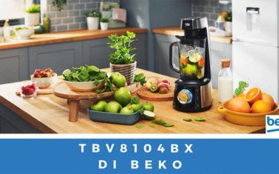 Frullatore Beko della linea Prowellness con tecnologia a emulsione sottovuoto