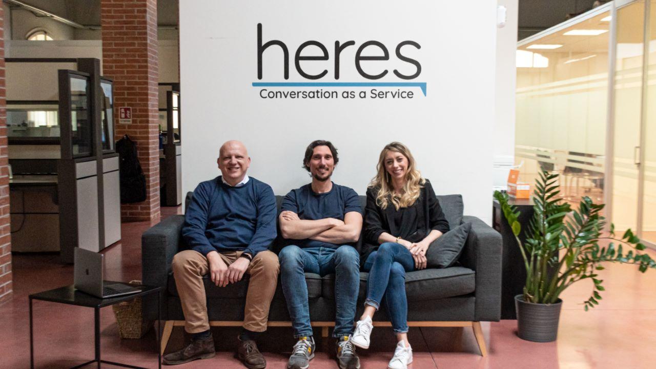 Heres.ai, la startup innovativa che realizza agenti conversazionali per top brand, continua a crescere