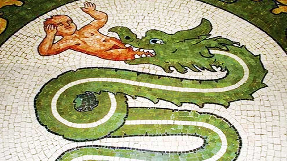 Il Biscione, storia e leggenda dello stemma di Milano