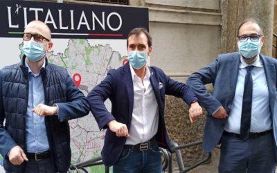 Milano, nuove rastrelliere per le biciclette grazie a L'Italiano