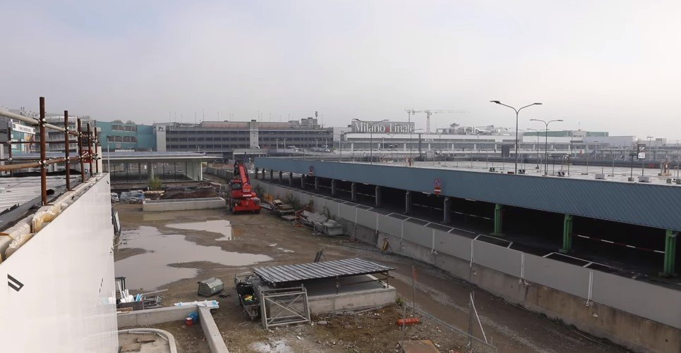Metro M4 Linea Blu, il cantiere della stazione Linate Aeroporto. Il VIDEO