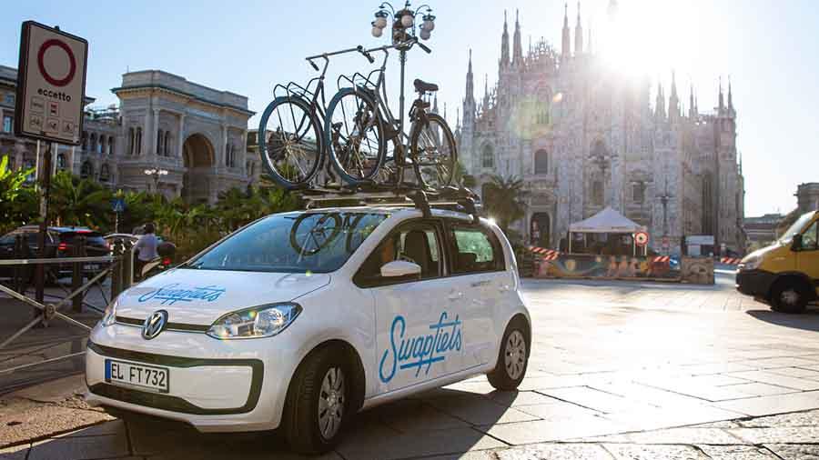 Noleggio bici gratuito per due mesi agli operatori sanitari di Milano