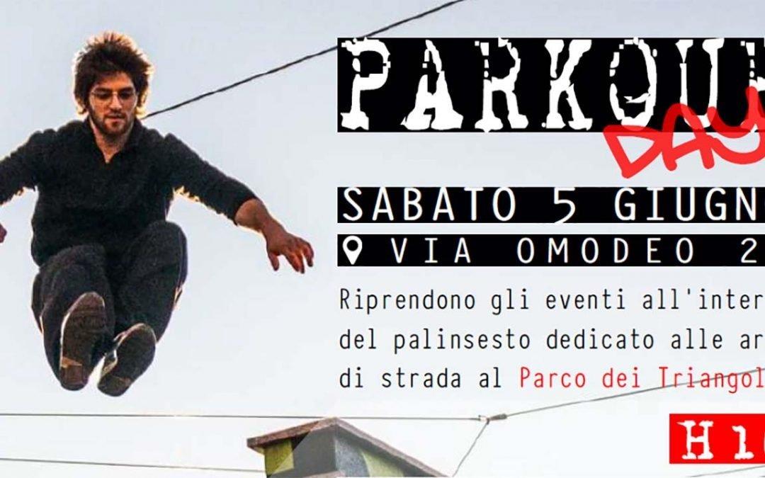 parkour day