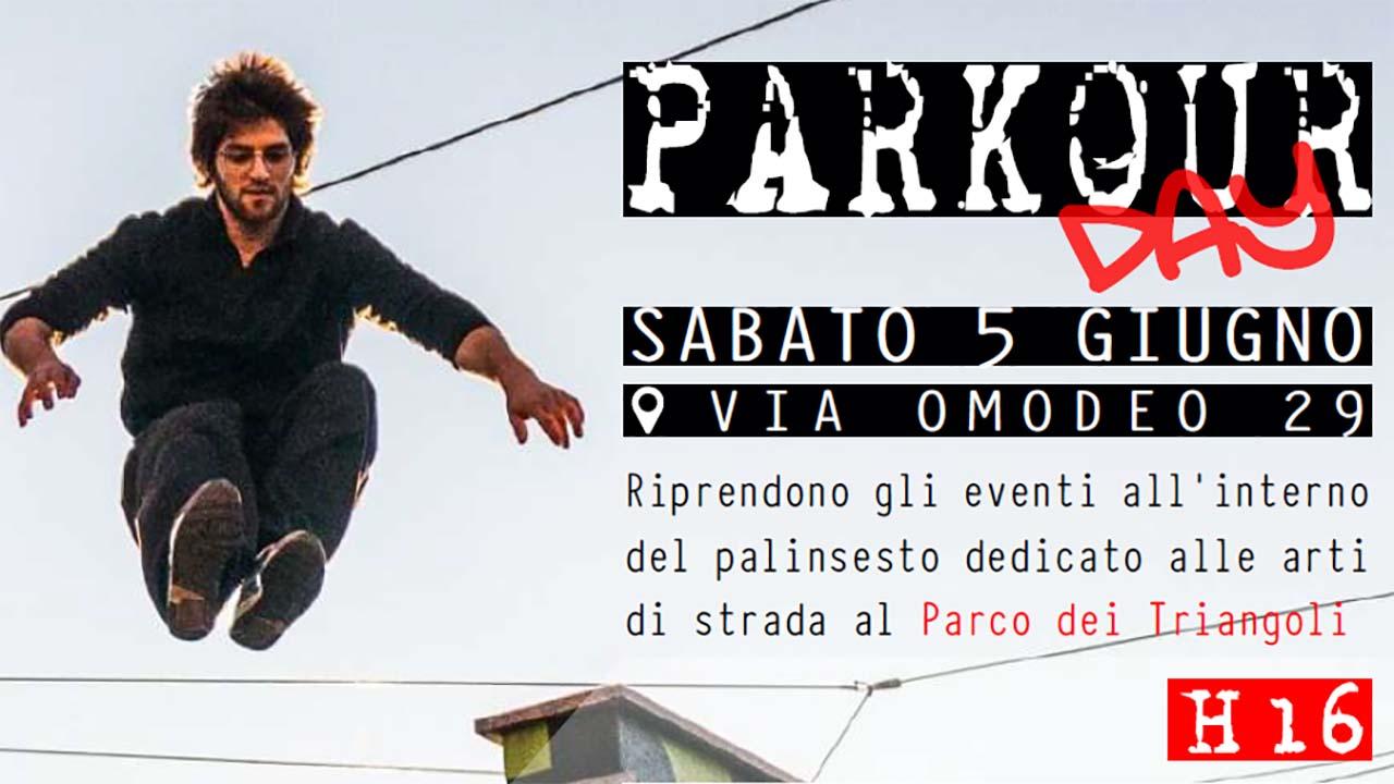 Parkour Day, a Milano una giornata per scoprirlo. Partecipazione gratuita aperta a tutti
