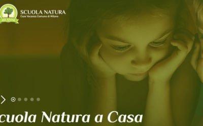 Scuola Natura, quest'anno si fa online. L'iniziativa patrocinata dal comune