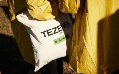 Tezenis con Alberitala per un evento Green di nome e di fatto